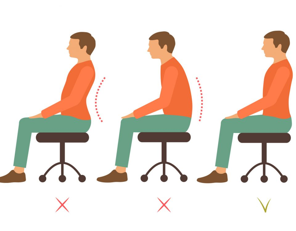 La corretta postura al lavoro