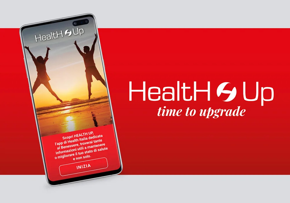 Da Health Italia E Arrivata Health Up L App Dedicata Al Benessere Health Online