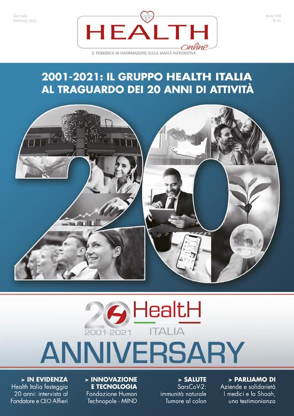 HealthHealth Online 41 - Gennaio/Febbraio 2021