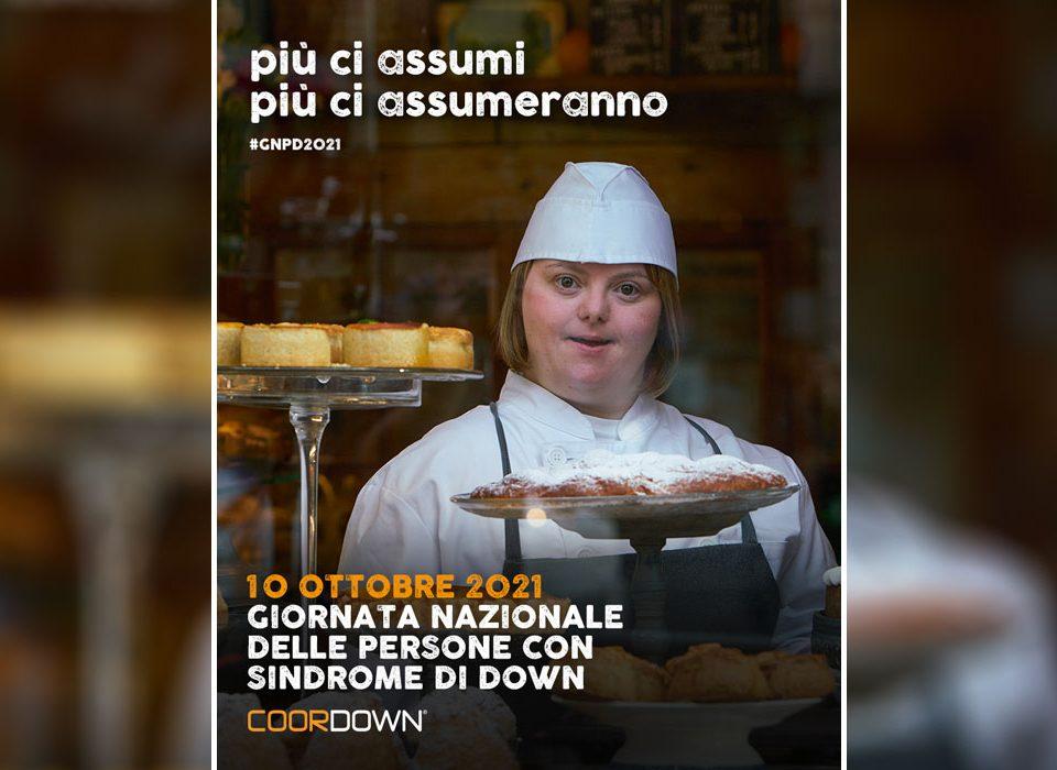 """""""Più ci assumi, più assumeranno"""", al via la Giornata Nazionale delle persone con sindrome di Down"""